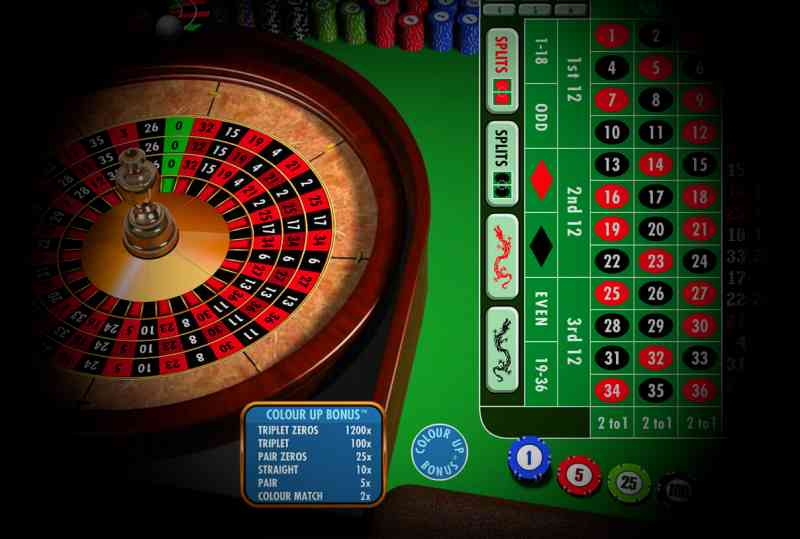 roulette wheel online casino game